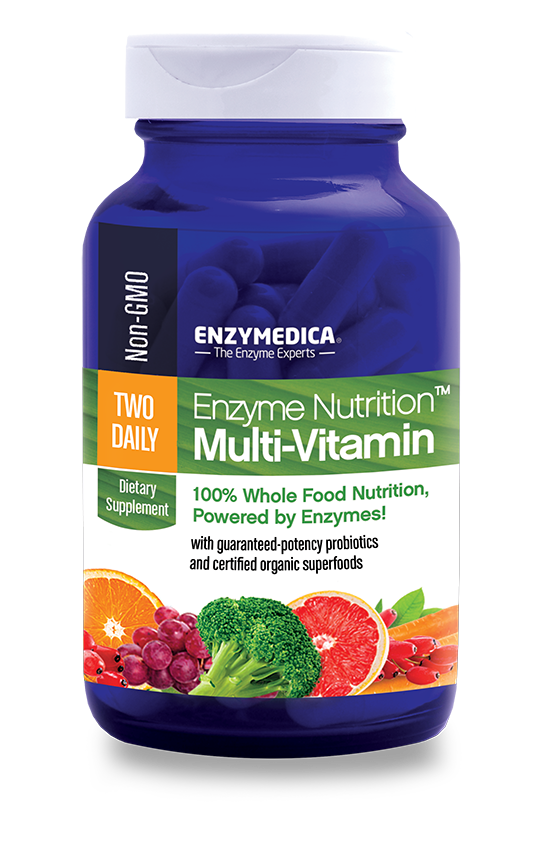 Enzyme Nutrition™ Multi-vitamin Two Daily - CAPSULES  (Enzymedica)