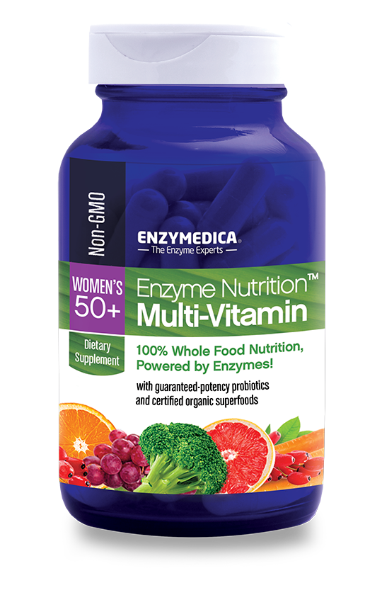 Enzyme Nutrition Women's 50+ - CAPSULES  (Enzymedica)