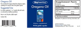 Oregano Oil (Allergy Research Group)