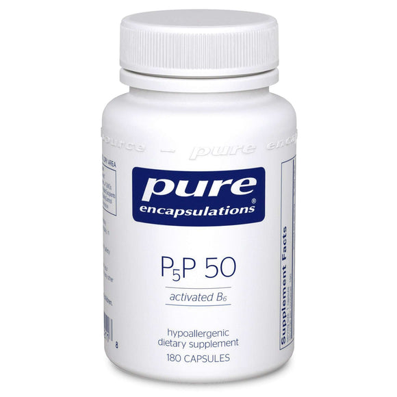 P5P 50 (activated B6) - (Pure Encapsulations) 180ct