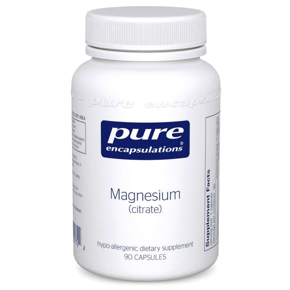 Magnesium (citrate)- (Pure Encapsulations)