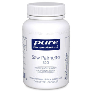Saw Palmetto 320 - CAPSULES - (Pure Encapsulations)