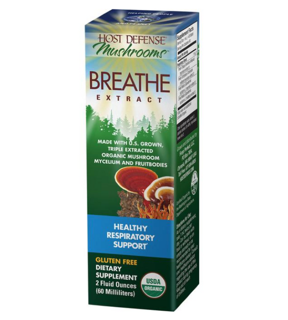 Breathe EXTRACT - Host Defense Mushrooms 2oz