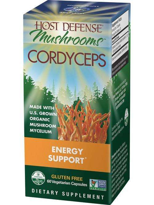 Cordyceps - Host Defense Mushrooms - CAPSULES