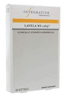 Lavela Ws 1265 - Lavender Oil Softgels - Silexin (Integrative Therapeutics)