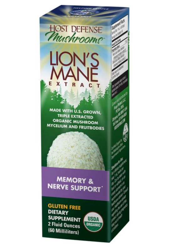 BACKORDER ONLY - Lion's Mane EXTRACT - Host Defense Mushrooms
