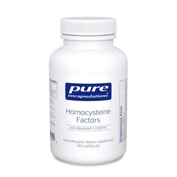 Homocysteine Factors - CAPSULES - (Pure Encapsulations)