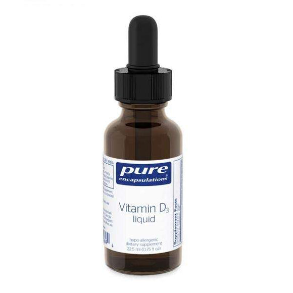 Vitamin D3 - LIQUID - (Pure Encapsulations)
