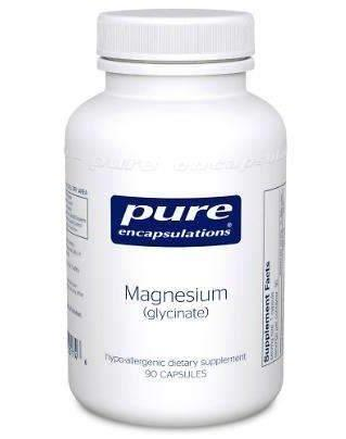 Magnesium Glycinate - CAPSULES - (Pure Encapsulations)