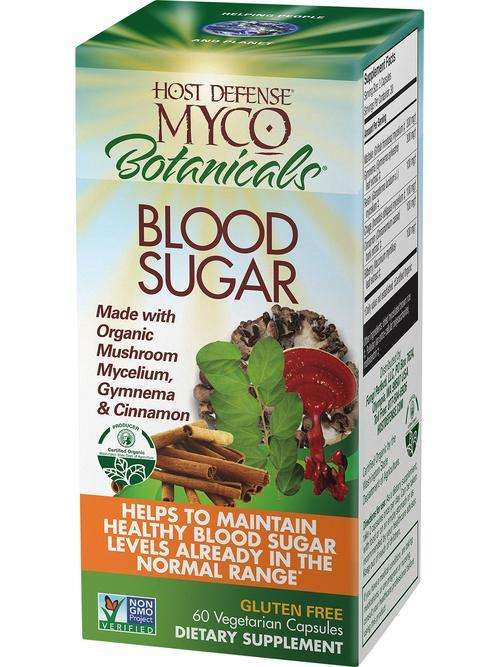 MycoBotanicals - BLOOD SUGAR - Host Defense Mushrooms