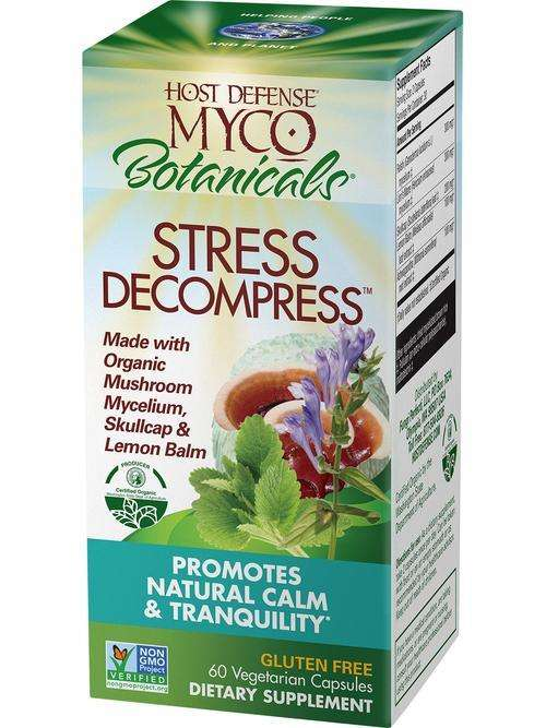 MycoBotanicals - STRESS DECOMPRESS - Host Defense Mushrooms