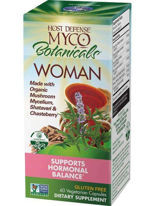 BACKORDER ONLY - MycoBotanicals - WOMAN - Host Defense Mushrooms