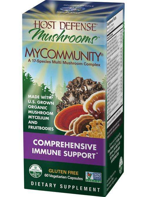 BACKORDER ONLY - MyCommunity Mushrooms - Host Defense Mushrooms - CAPSULES