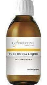 Pure Omega Liquid - High Potency Liquid Fish Oil (Integrative Therapeutics)