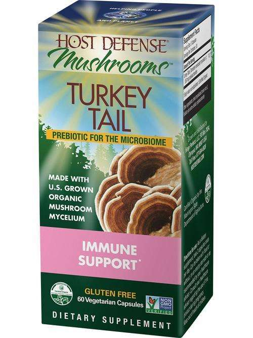 Turkey Tail - CAPSULES (Host Defense)
