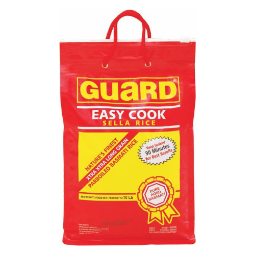 Guard Sela Basmati Rice 10lb