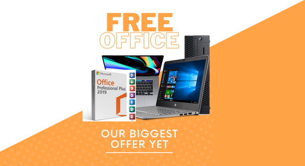 Free Microsoft Office - Our Biggest Offer Yet