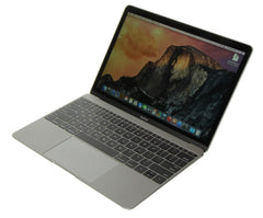 Refurbished Apple MacBook A1534 side - Peach Stores
