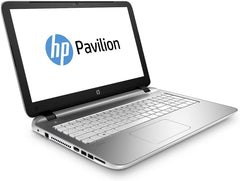 Refurbished HP Pavilion 15-p189na side laptop - Peach stores