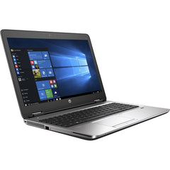 Refurbished HP ProBook 640 G1 side - Peach Stores