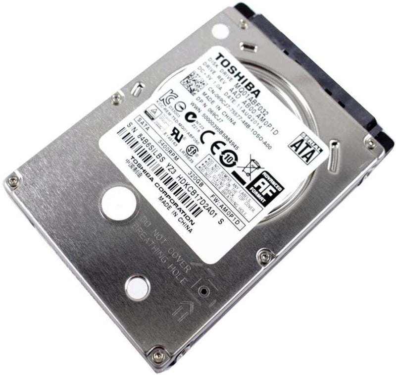 "320GB 2.5"" SATA Laptop Internal Hard Drive (HDD)"