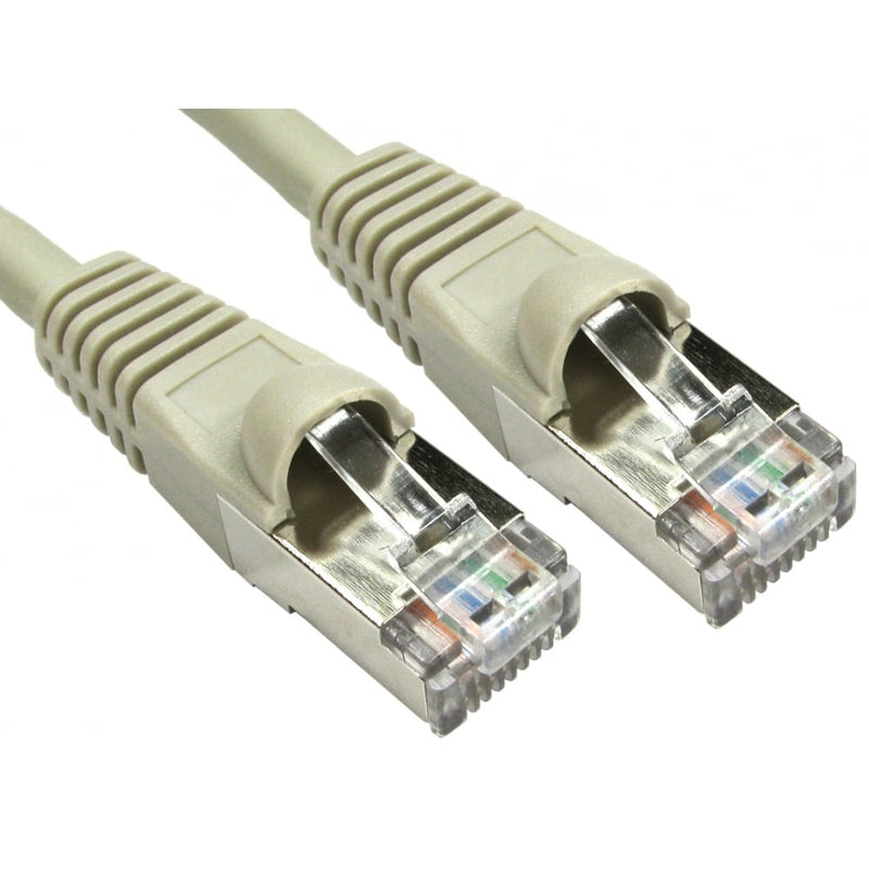 Cat6A RJ45 Ethernet Patch Network Cable (Grey) - 50M - Peach Stores