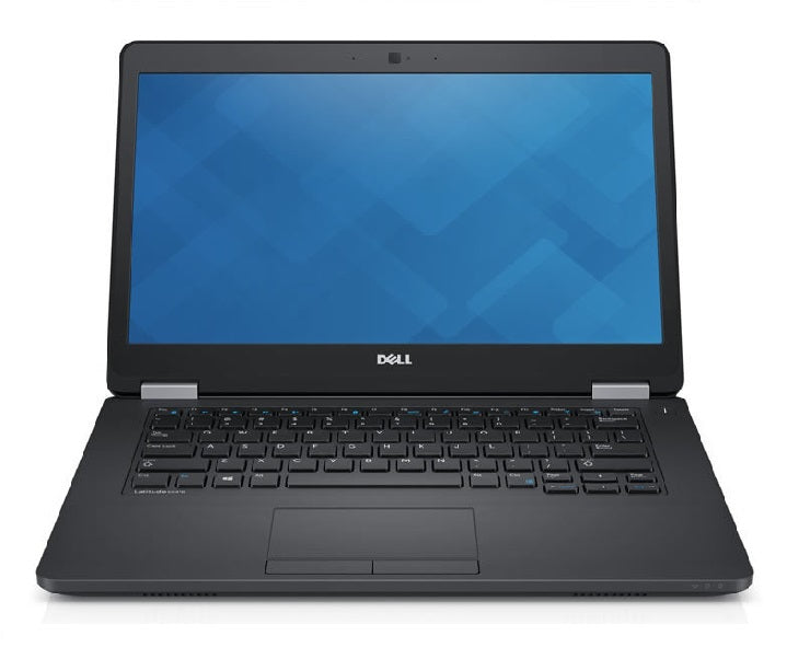 Refurbished Dell Latitude E5470 front - Peach Stores
