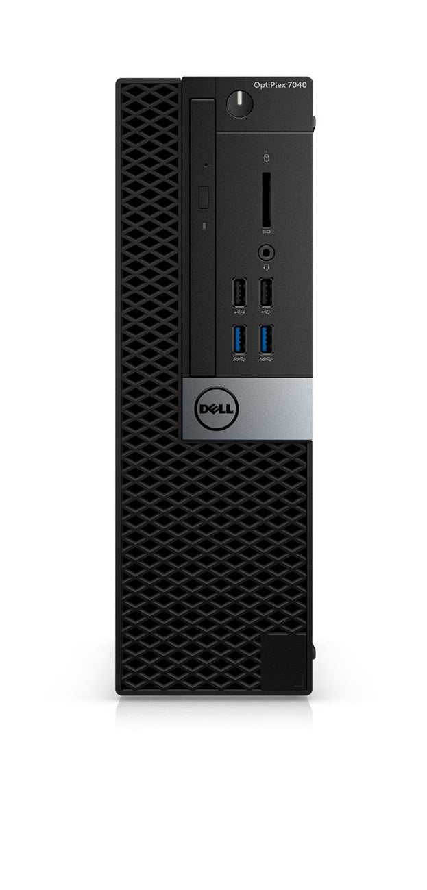 Refurbished Dell OptiPlex 7040 front - Peach Stores