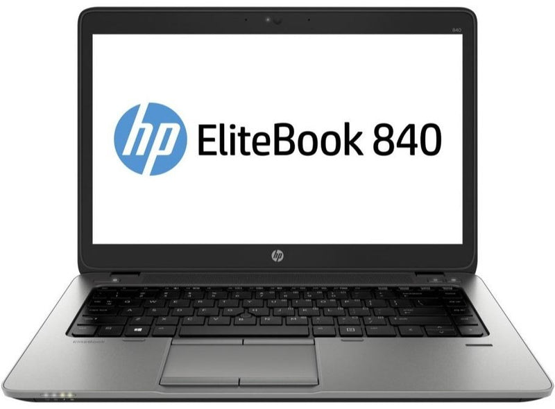 Refurbished HP Elitebook 840 G3 front - Peach Stores