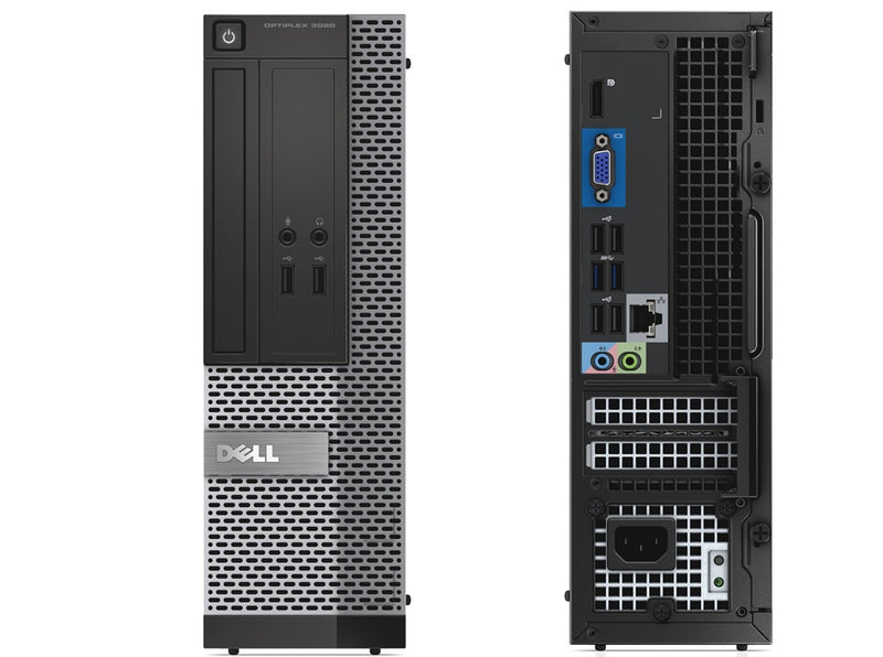 Dell OptiPlex 3020 4th Gen Core i5 SFF Desktop Front Back - Peach Stores