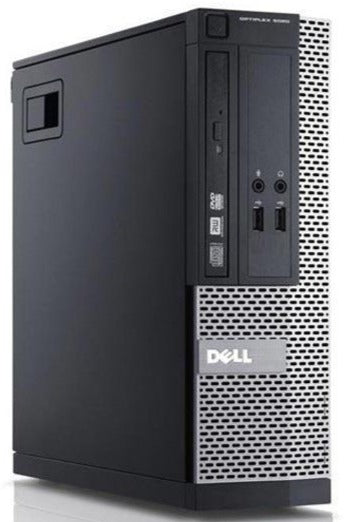 Dell OptiPlex 3020 4th Gen Core i5 SFF Desktop Side - Peach Stores