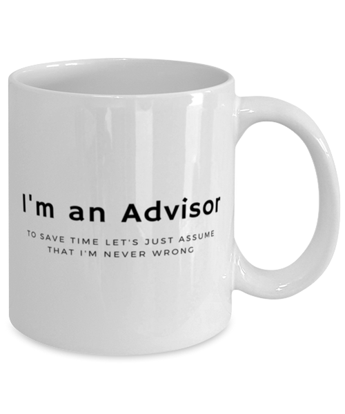 I'm an Advisor Coffee Mug