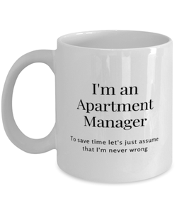 I'm an Apartment Manager Coffee Mug
