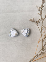 Load image into Gallery viewer, Orchid Studs - Stone