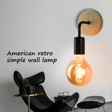 Retro Lamp Industrial Decor