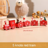 Little Train Wooden Christmas Decorations for Home Xmas Decor Christmas 2020 New Year 2021 Christmas Ornaments Christmas Noel‼️REDUCERI‼️