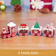 Load image into Gallery viewer, Little Train Wooden Christmas Decorations for Home Xmas Decor Christmas 2020 New Year 2021 Christmas Ornaments Christmas Noel