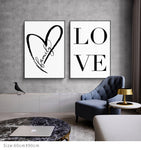 decor perete canvas motivational