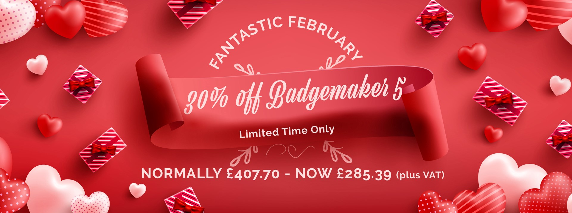 Badgemaker 5 - 30% off
