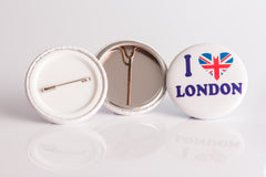 I Love London Badge Example