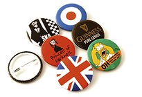 38mm Personalised Button Badges