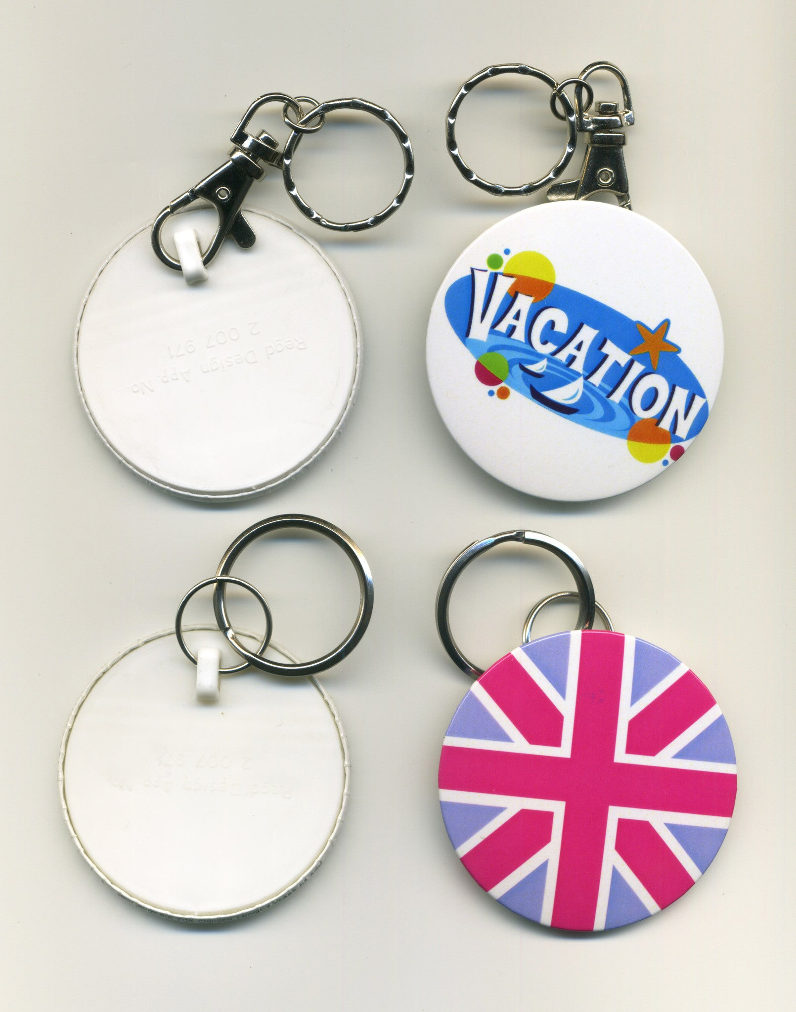 55mm Personalised Keyring