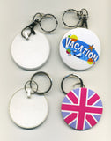 57mm Personalised Keyring