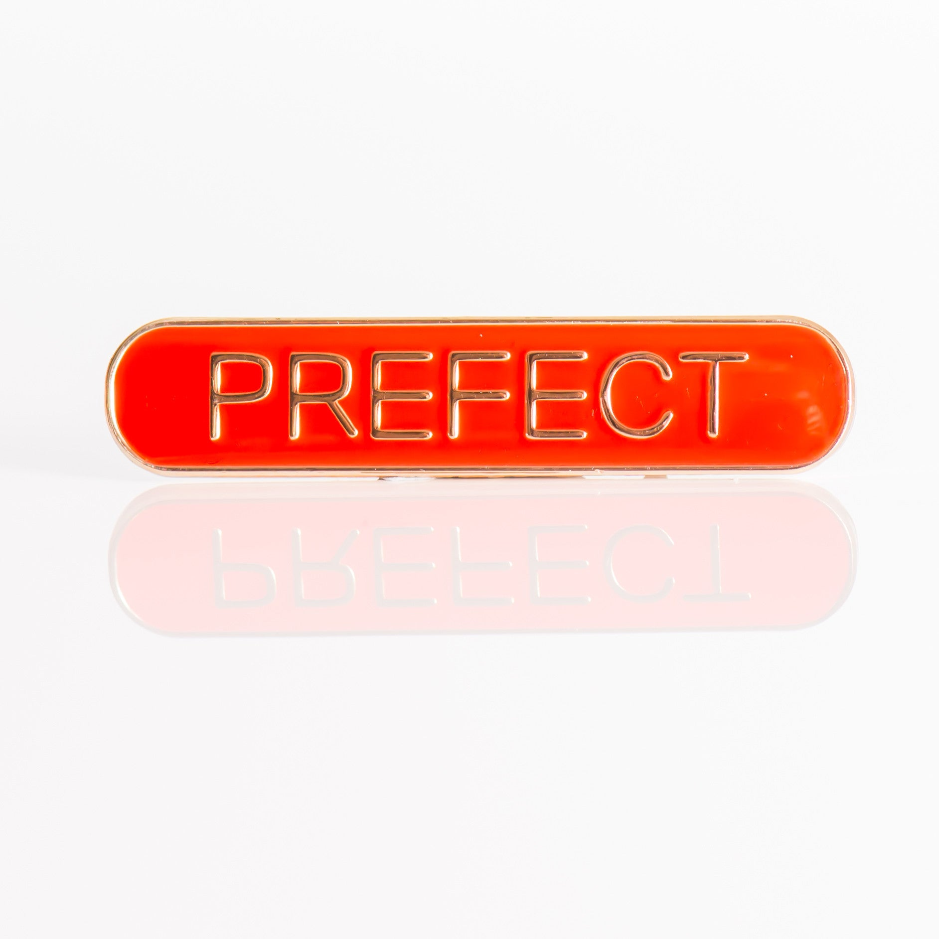 Enamel Bar Pin Badge - Prefect