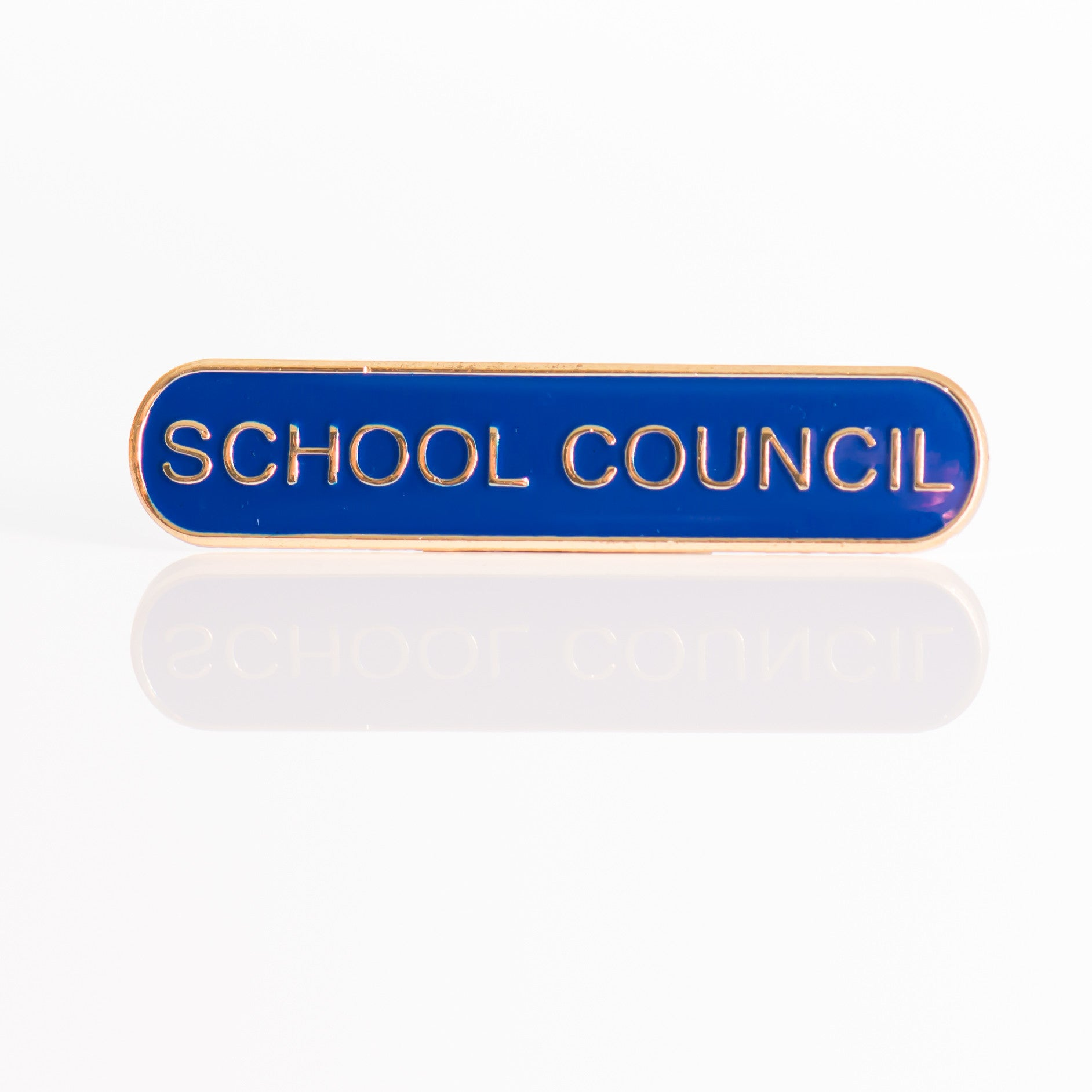 Enamel Bar Pin Badge - School Council