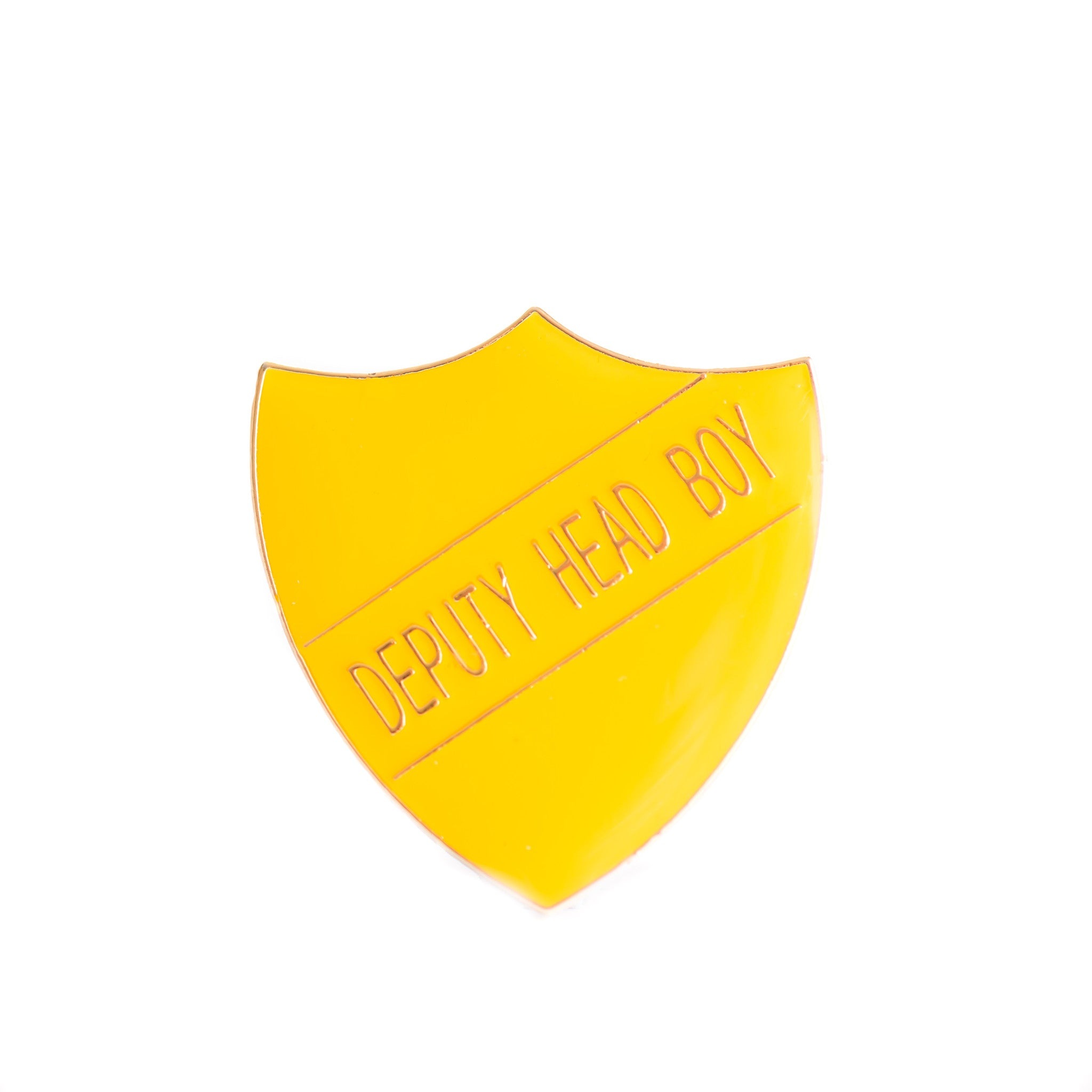 Enamel Shield Pin Badge - Deputy Head Boy
