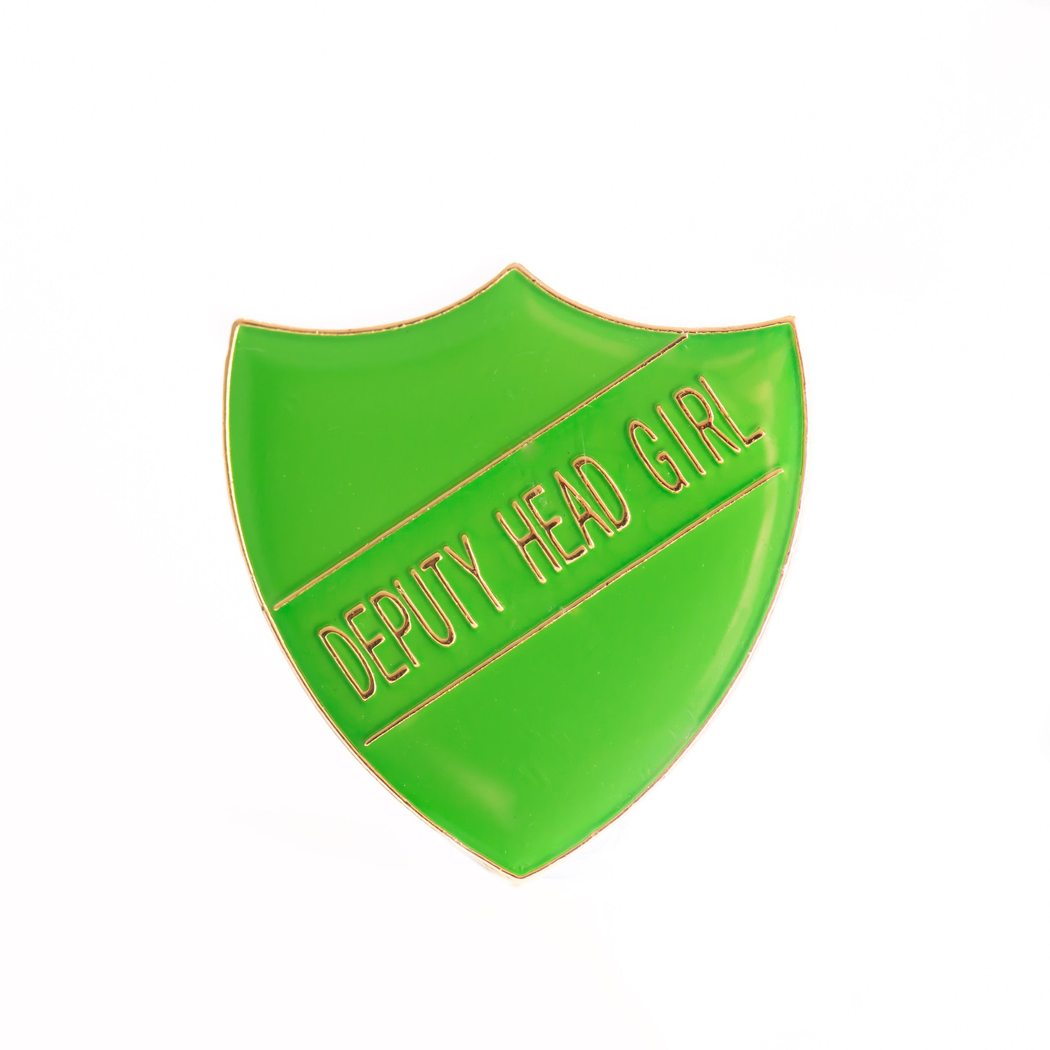 Enamel Shield Pin Badge - Deputy Head Girl