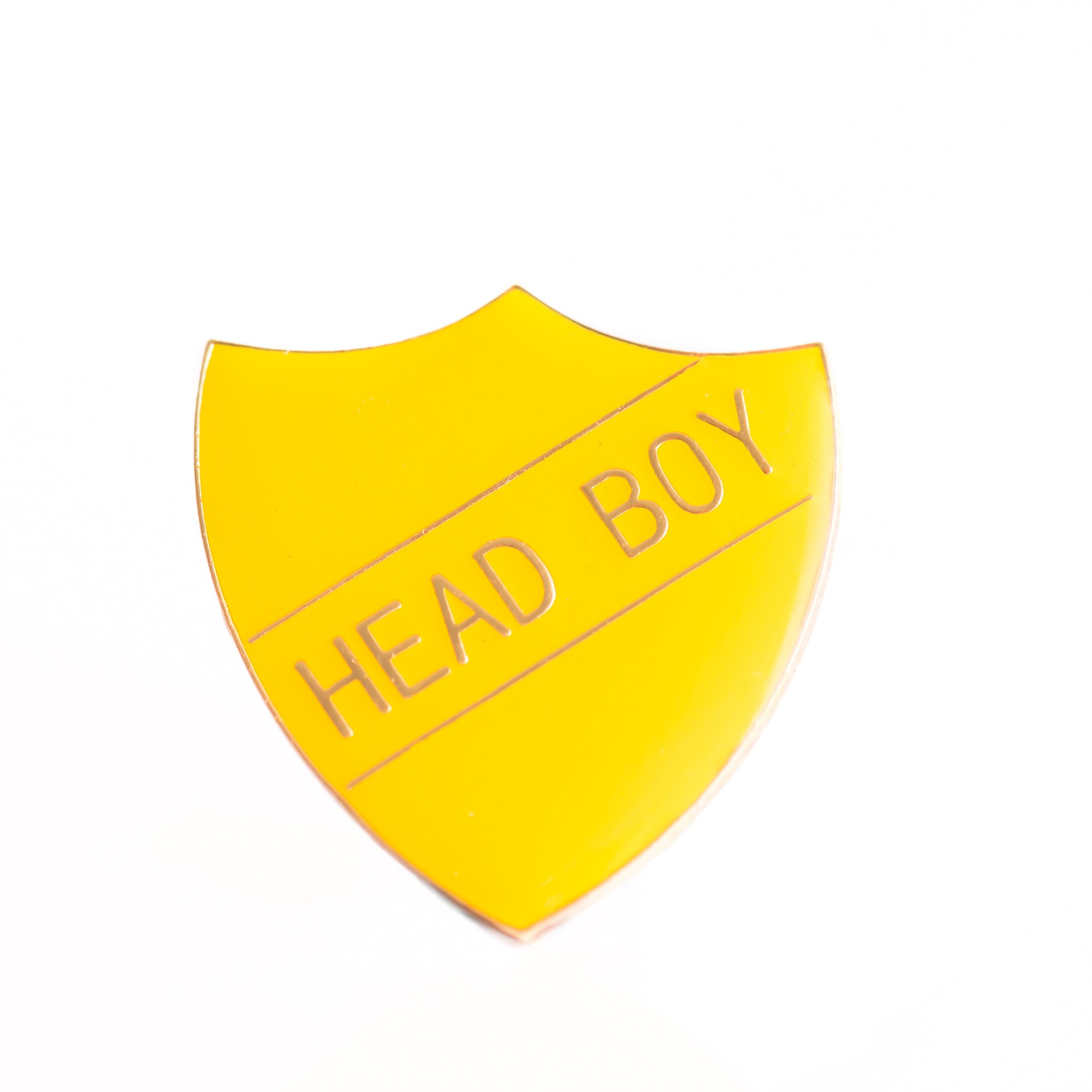 Enamel Shield Pin Badge - Head Boy
