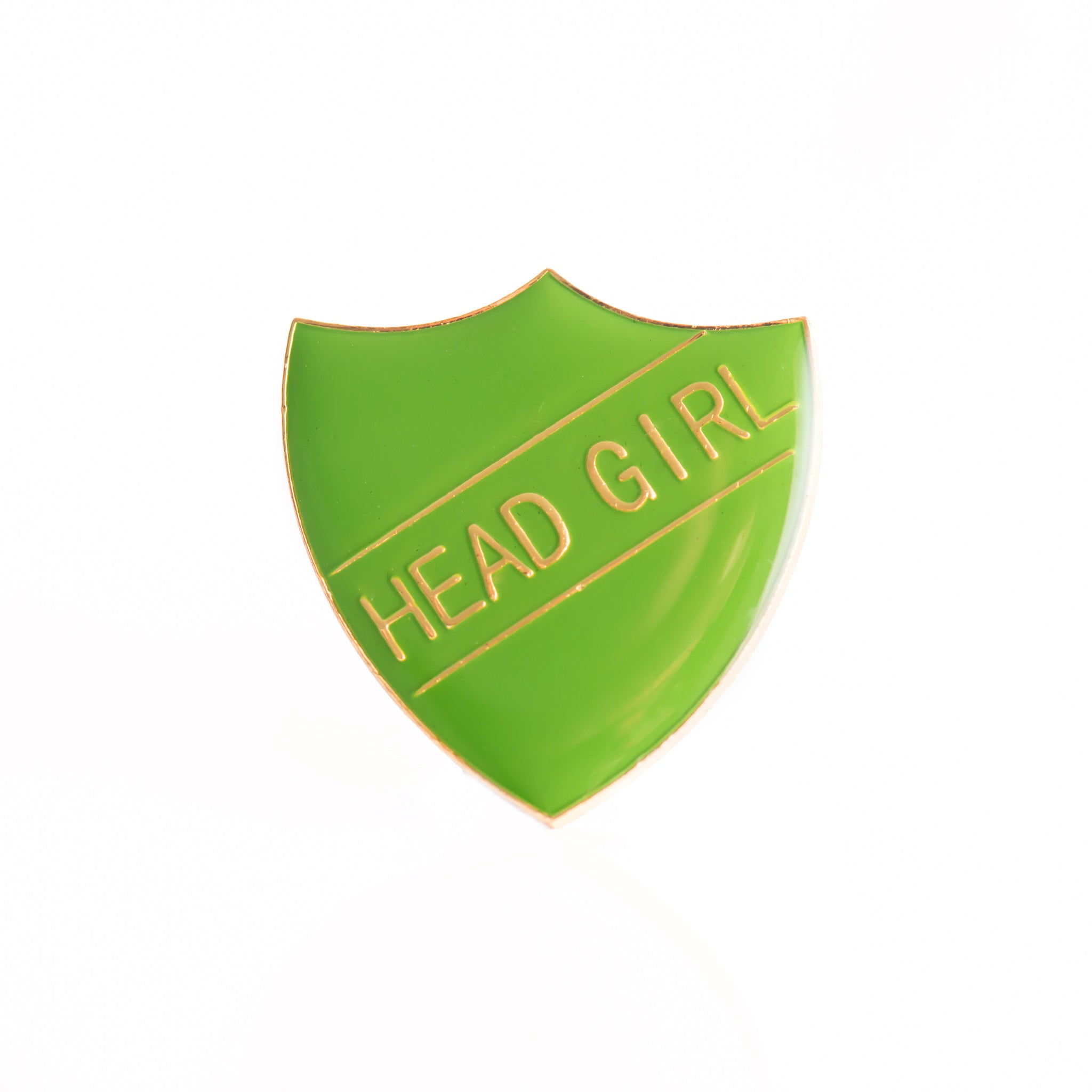 Enamel Shield Pin Badge - Head Girl