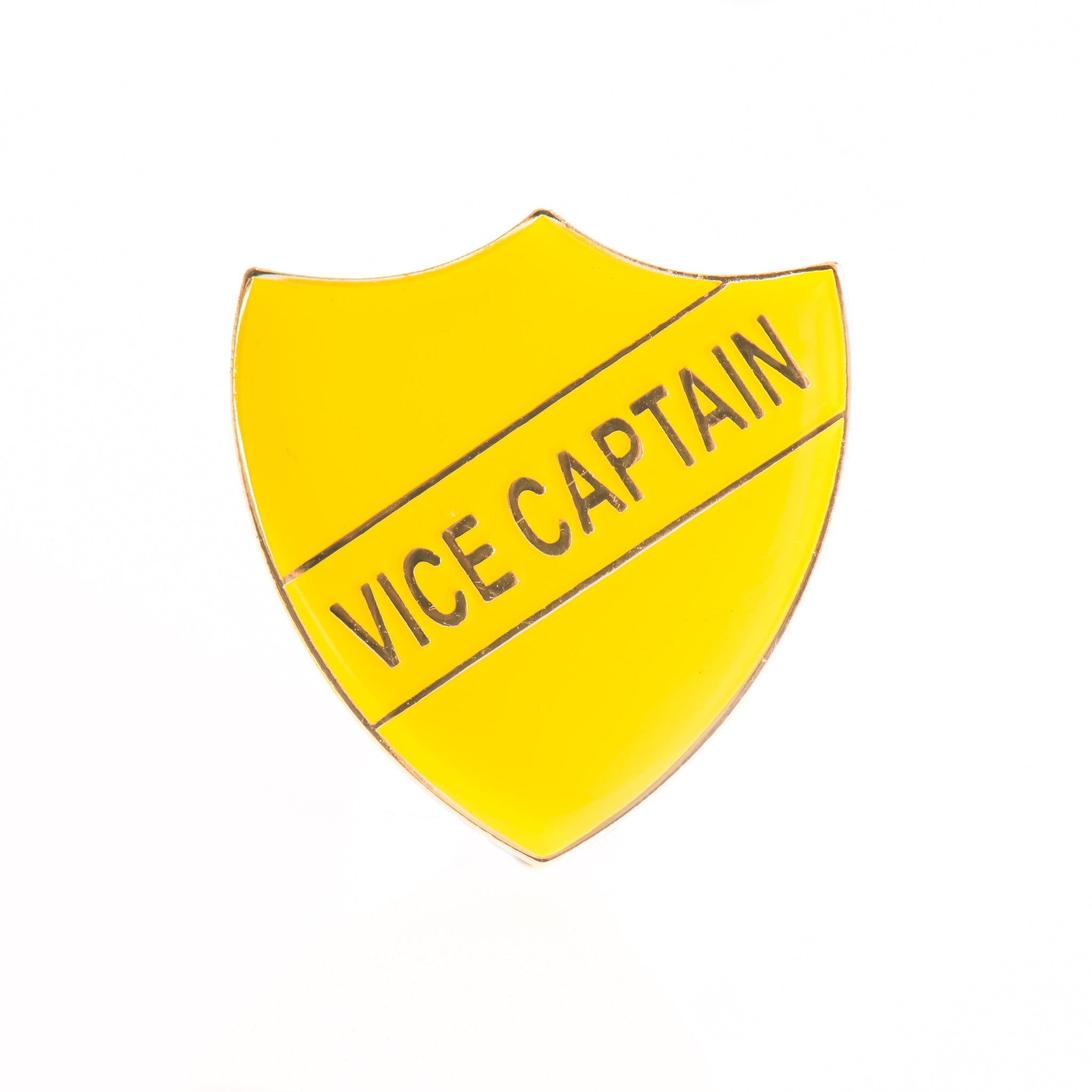 Enamel Shield - Vice Captain
